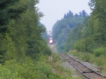 CN 406 coming out of Fundy