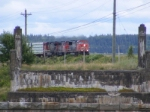 CN 407 coming into Sackville