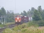 CN 407 departing Sackville