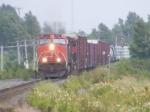 CN 407 at Sackville