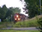 CN 406 at Petitcodiac