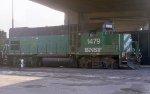 BNSF 1479 working the yard