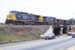 Radium Springs Coal train going into ex ACL yard now GFRR