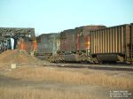 BNSF 8274 at the end of locomotives hauling empty coal drag