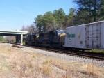 CSX 4504 On The Juice Train