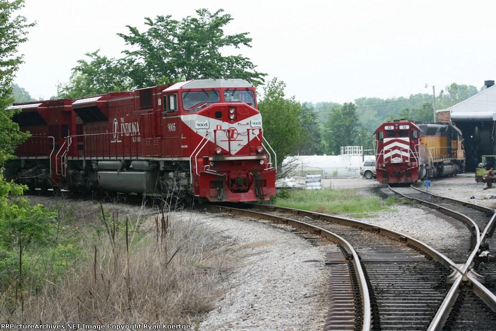 Indiana Railroad's big power.