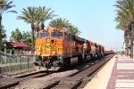 BNSF 7719 Leads The Slab Train East