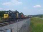 CSX 6410 southbound on siding