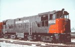 SP 8502 as delivered