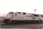 C32-8 6618 sits in the rain in the transfer yard at Oak Island