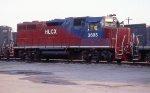 HLCX 3605 at GFRR Railnet yard