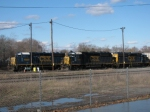 CSX Gp40-2's @ Middleboro