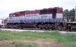 EMDX 7006 on dry rock train