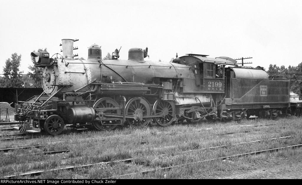CB&Q 2-6-2 Class R-5 2199