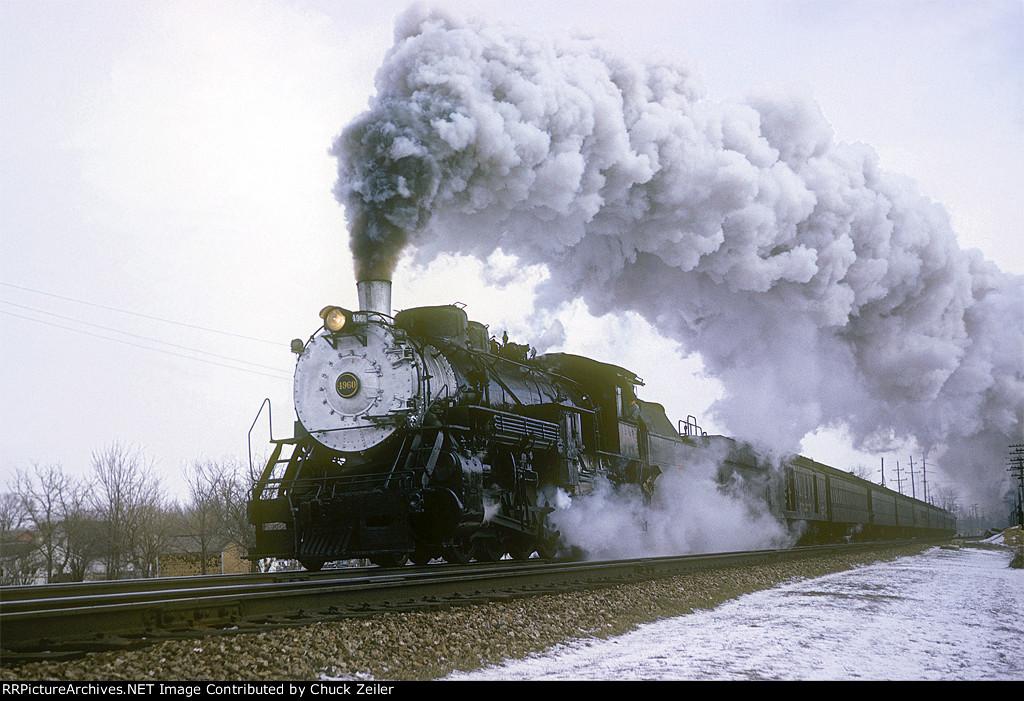 CB&Q 2-8-2 Class O-1-A 4960