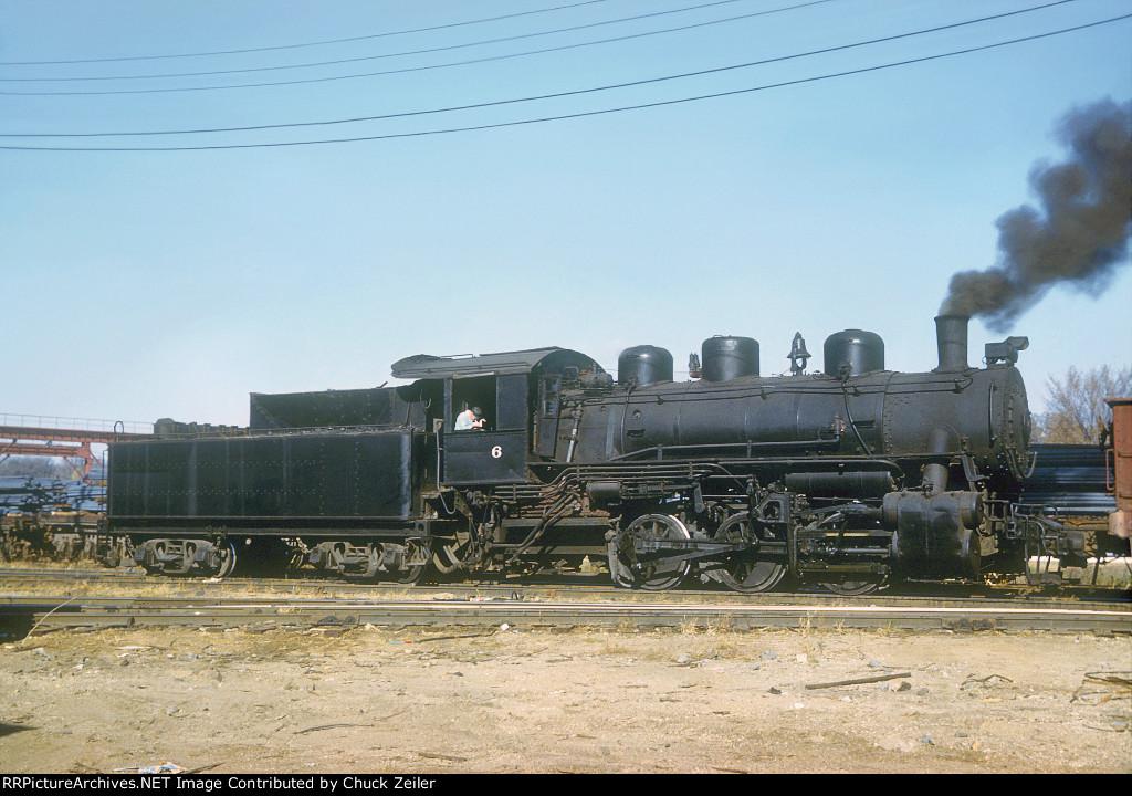 CB&Q 0-6-0 Class G-5 506 / NSW 6