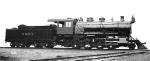 B&MR 2-8-0 Class D-4 3316