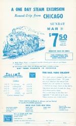 CB&Q Flyer 3/21/65