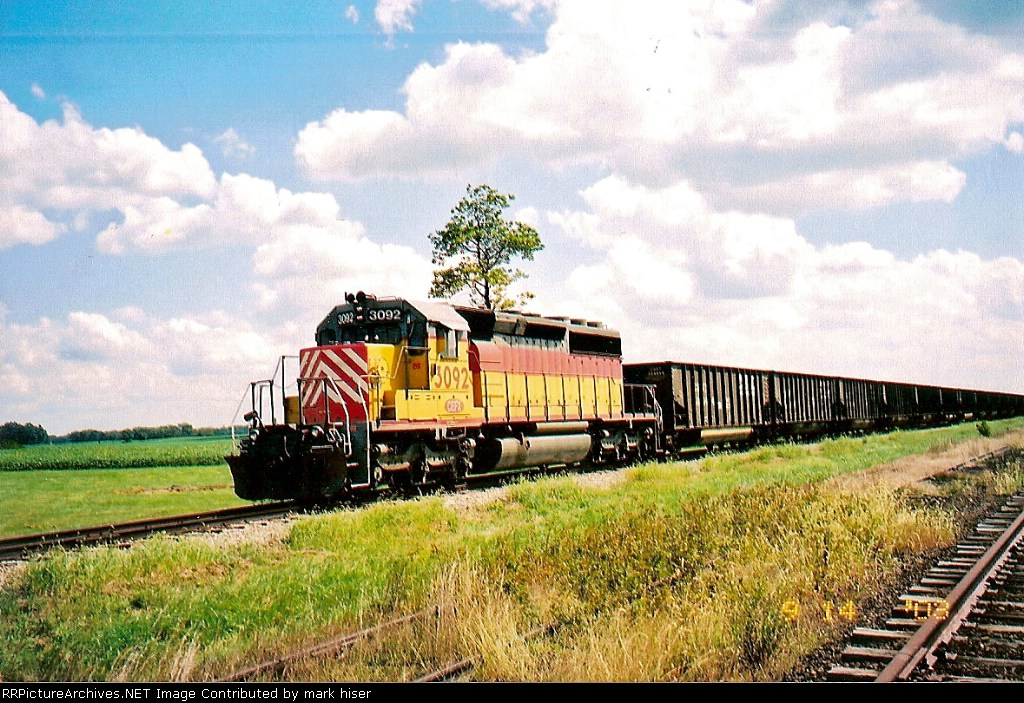 Moving CSX cars for storage