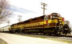 Leased WC SD45s on WCH-C