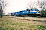 Matched pair of former SD70MACs