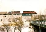 Grain train on Mechanicsburg Line