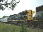 CSX 116 on train Q614