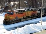 BNSF 5705 & NS 6636
