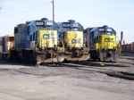 CSX #s 2558, 2669, 2736