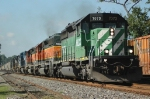 NS 51Z at Kannapolis with 3 HLCX's up front.