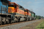 NS 51Z at Kannapolis, going away shot.