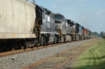 Another going away shot of NS 51Z at Kannapolis