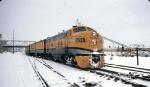 1271-12 Rio Grande Zephyr (RGZ) departs Union Station