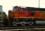 BNSF 4422 close-up