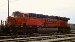 BNSF 7580 close-up