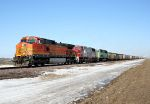 Trio of BNSF paints