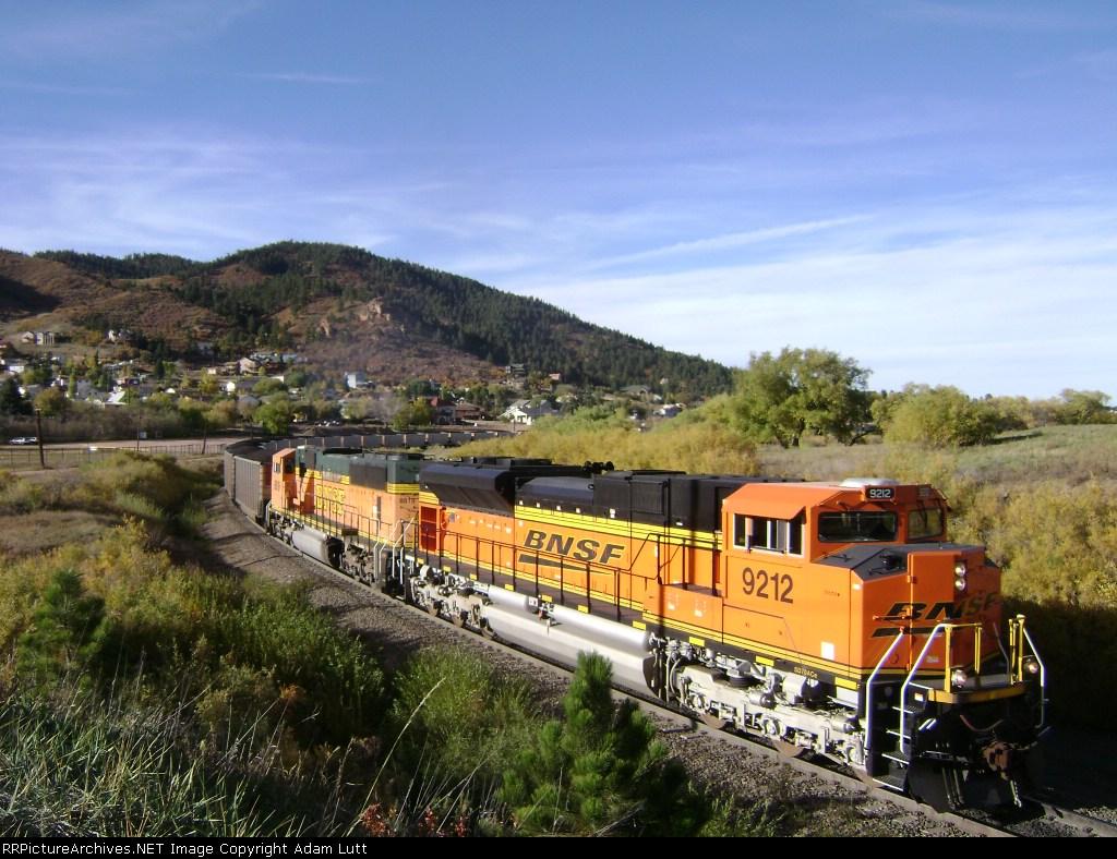 BNSF 9212 SD70ACe