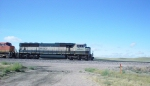 BNSF 9693 wb with coal empties