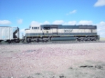 BNSF 9764-Tail-end unit on eb coal loads