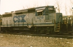 Prior to  being turned into a road slug, sublettered for the C&O, this GP 30 heads west on ALCS