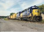 Q409(formerly Conrail SECS) rolls south through CP-5