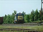 CSX 6123 switching the yard