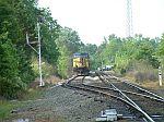 Coal train dead in the siding