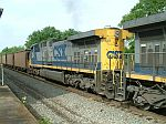CSX 555 on a NB coal train