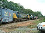 CSX 691 on train Q541