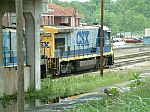 CSX 5563 sitting in the yard