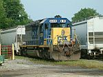 CSX 8199 rests for the weekend