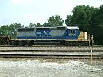CSX 8026 is used as local power
