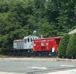NYSW S2 206 & caboose
