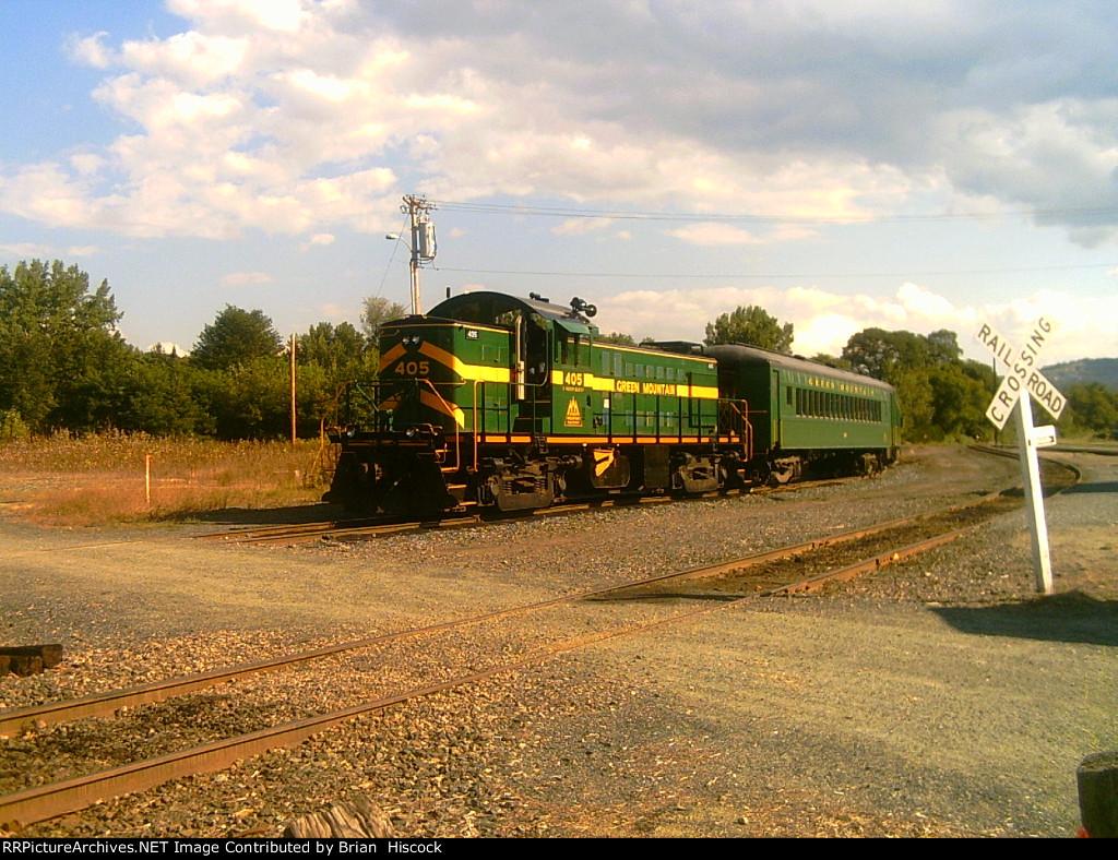 Green mountain train